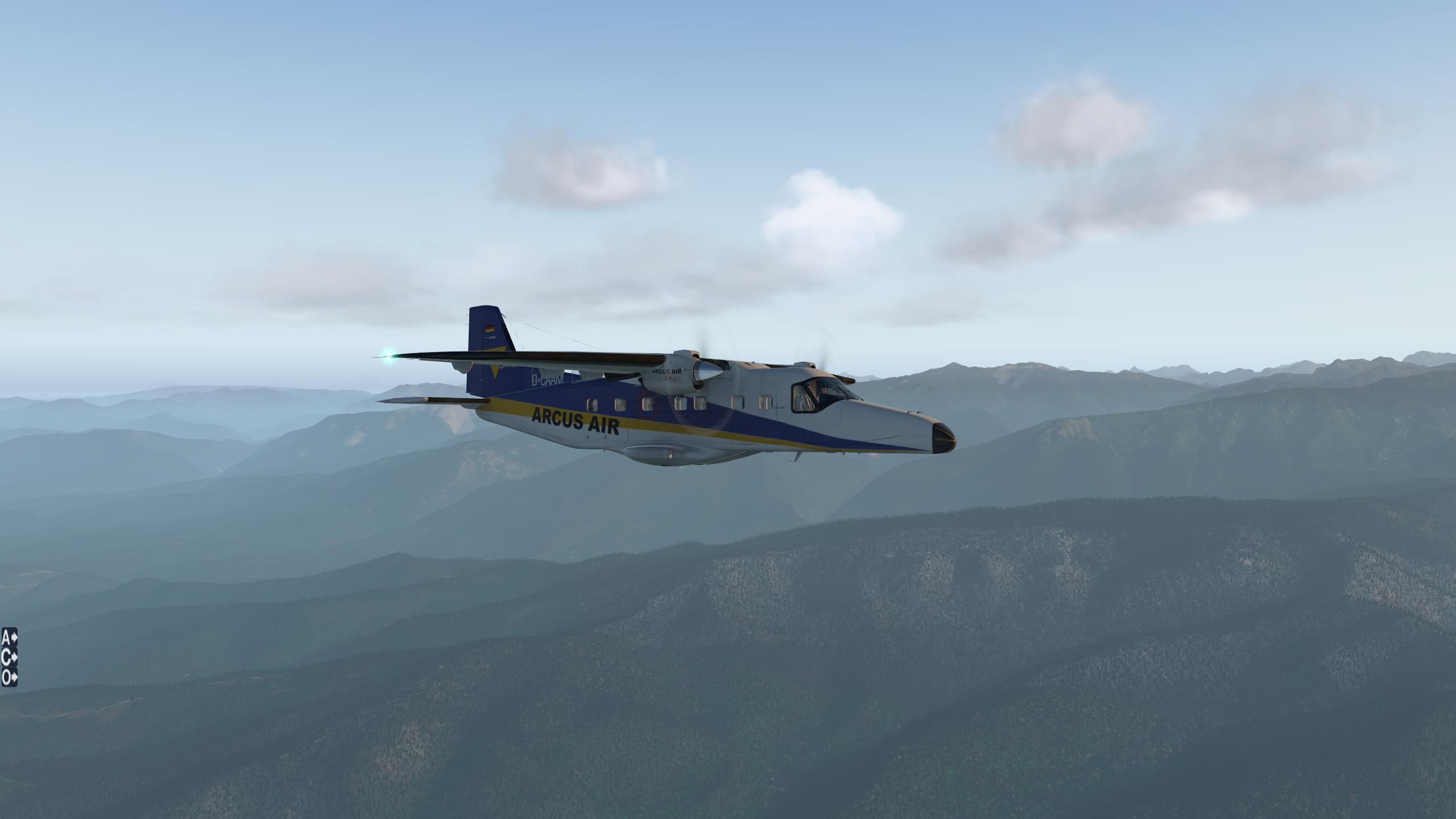 Carenado Do228 Repaint D-CAAM ARCUS AIR - Carenado Paints - X-Plane