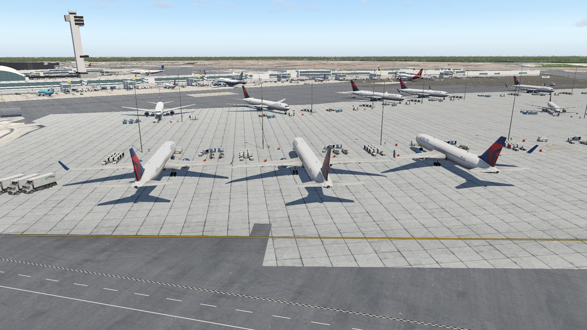 KJFK John F  Kennedy International Airport - Scenery