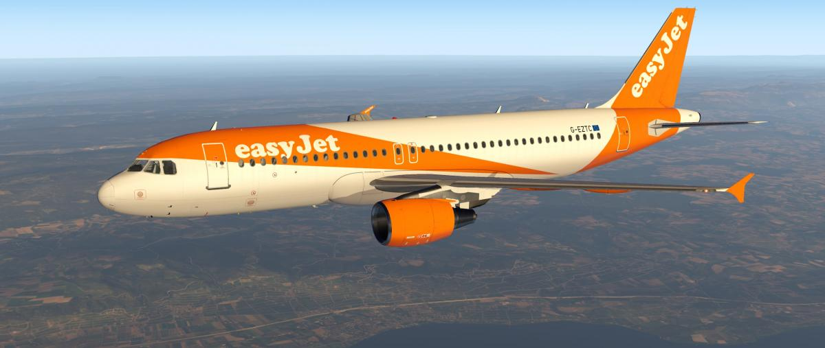 FF A320 – Easyjet (New) ALL REGISTRATIONS - Aircraft Skins