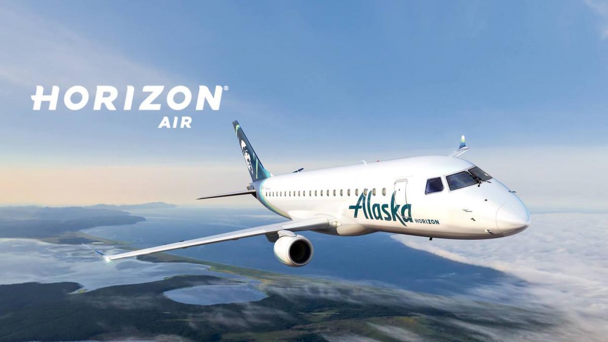 Alaska (Horizon Air) Embraer E-175 v2 2 by X-Craft
