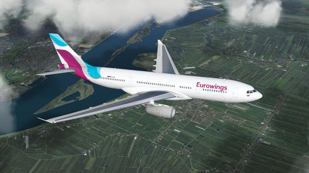 JarDesign A330 Eurowings D-AXGA - Aircraft Skins - Liveries