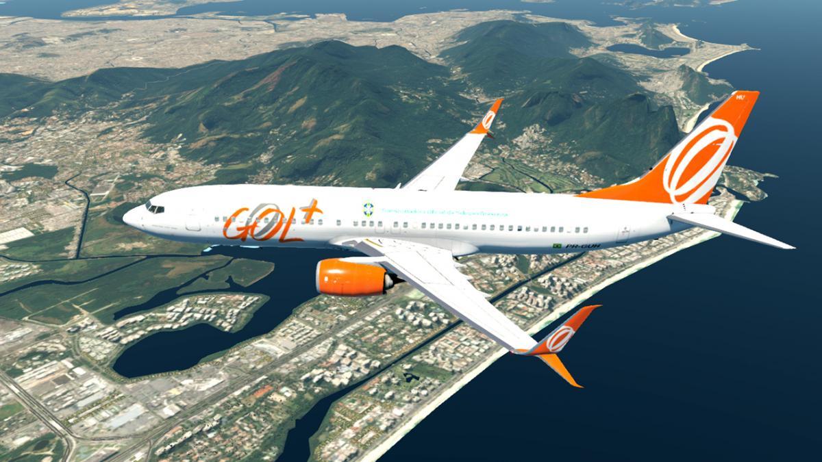 GOL Boeing 737-800 livery for ZIBO + Scimitar RG MOD - Aircraft