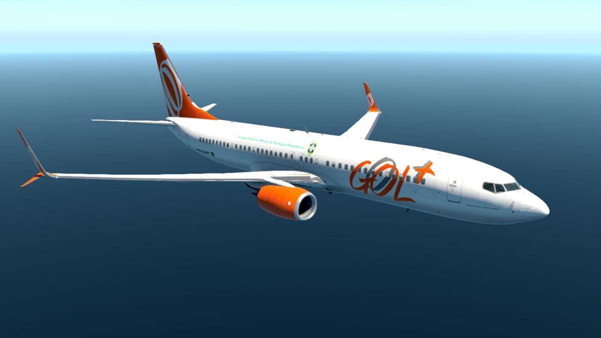 GOL Boeing 737-800 livery for ZIBO + Scimitar RG MOD