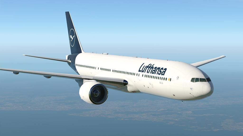 Lufthansa NEW Livery - Boeing 777-200LR - Aircraft Skins