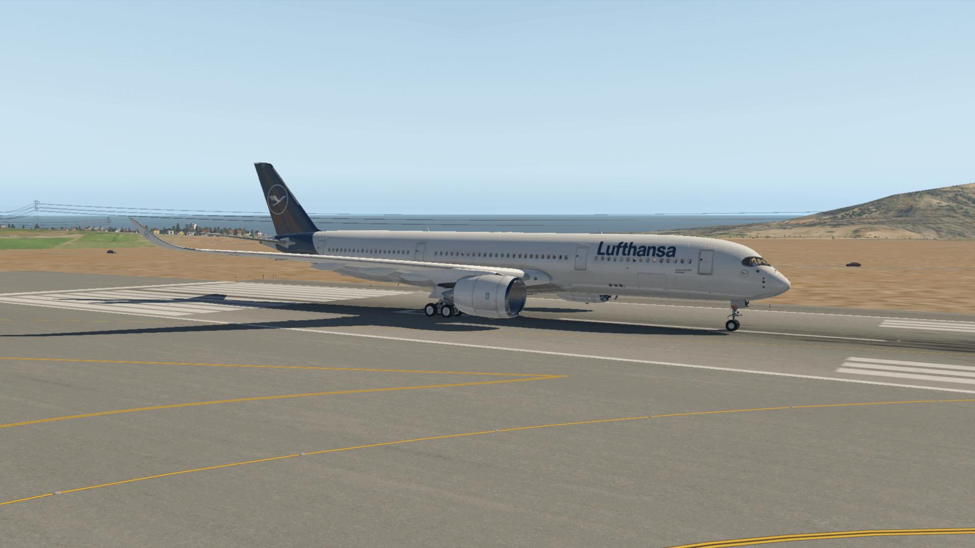 Lufthansa Airbus A350 D-AIXA - NEW LIVERY! - Aircraft Skins