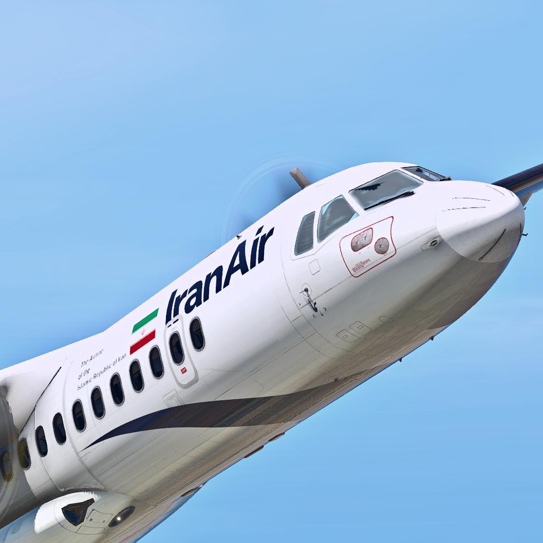 Iran Air ATR-72-500 - Aircraft Skins - Liveries - X-Plane