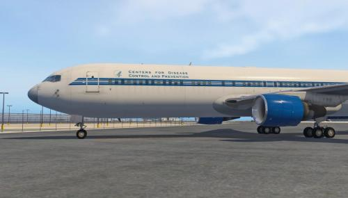 Centers for Disease Control Livery for the FF 767 - Aircraft Skins