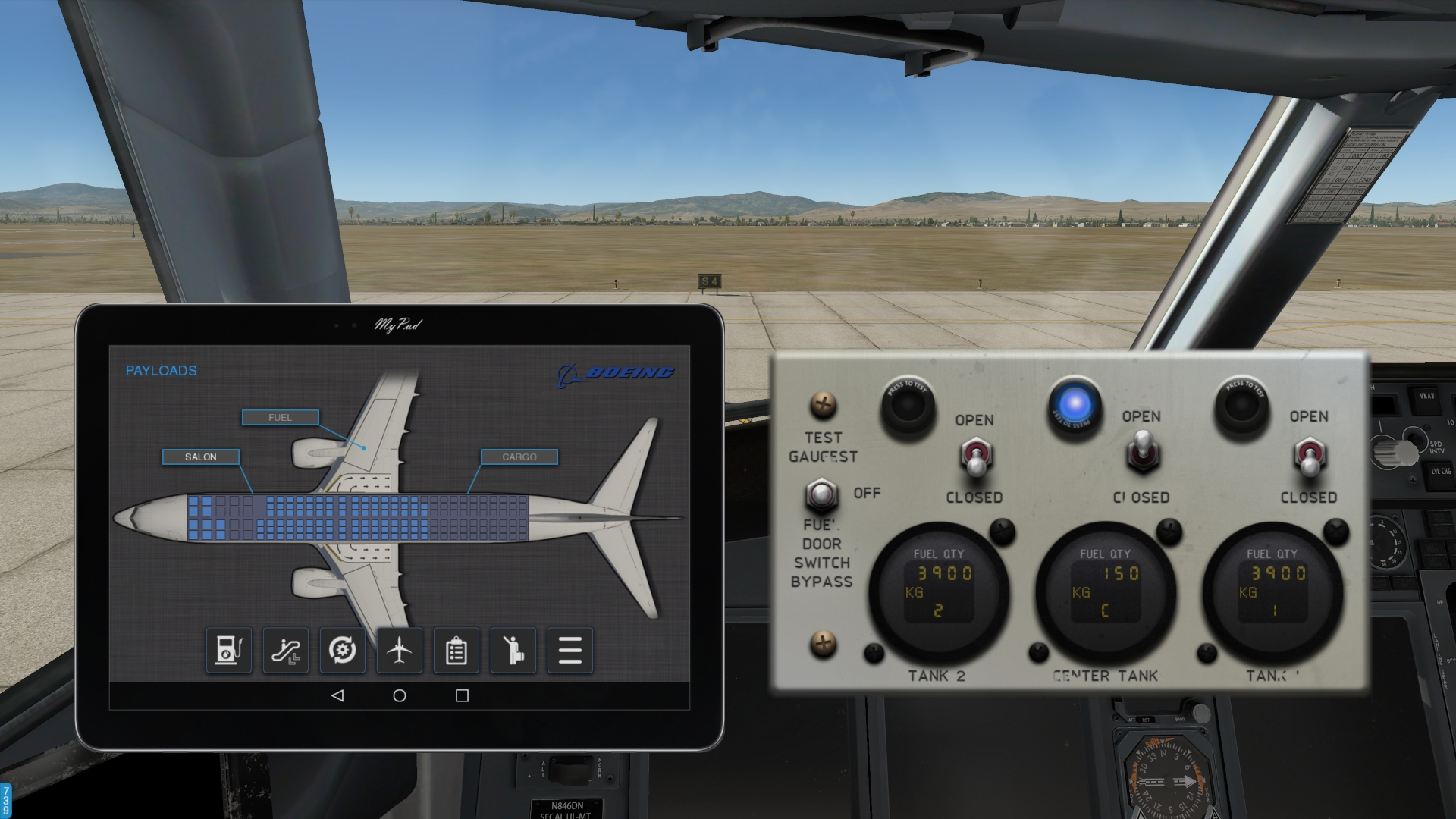 xBai Plugin for Boeing 737-800 (default/Zibo mod/RG_mod/737-900