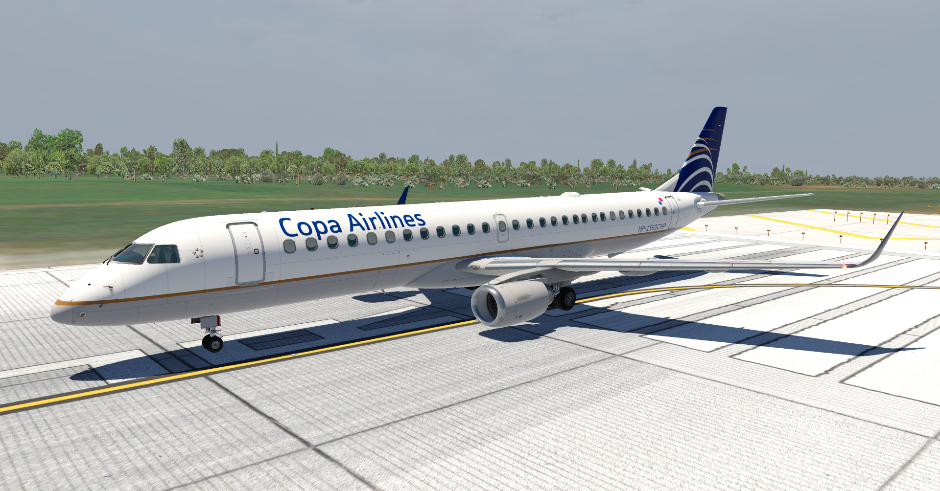 SSG E-195 Evolution - Copa Airlines - SSG Liveries - X-Plane Org Forum