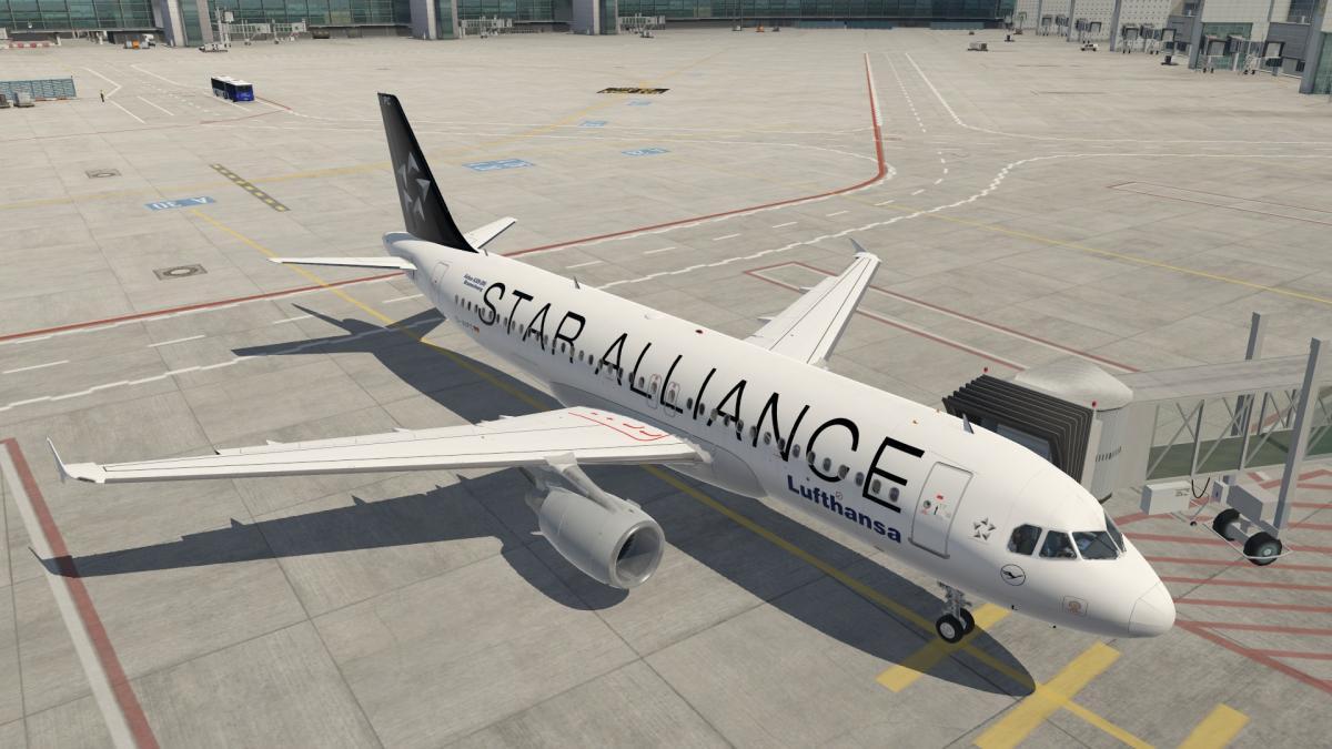 FF A320 Lufthansa(StarAlliance) D-AIPC - Aircraft Skins