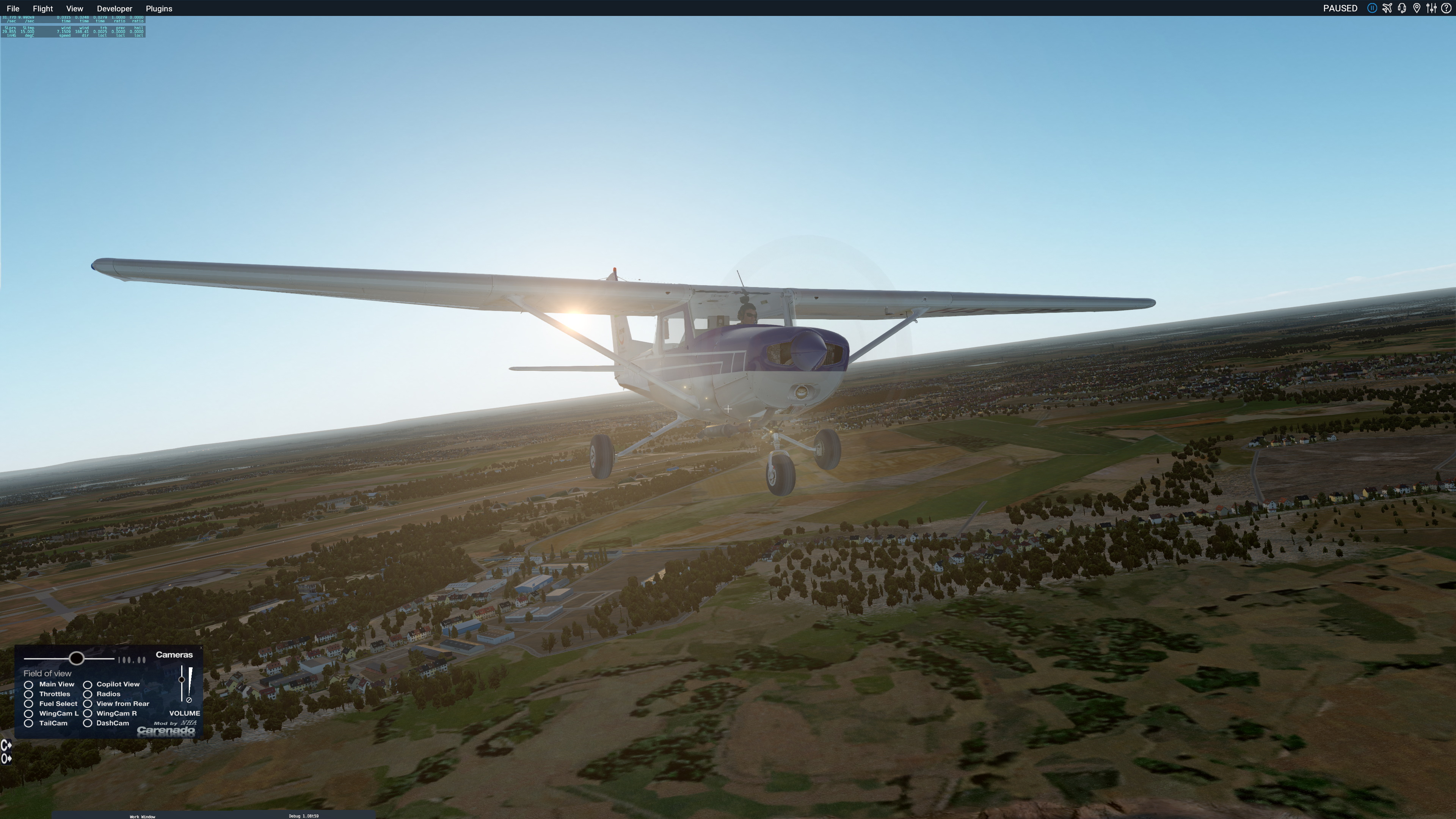 Unofficial XP11 30+ upgrade to Carenado C152II v3 2 by Nhadrian