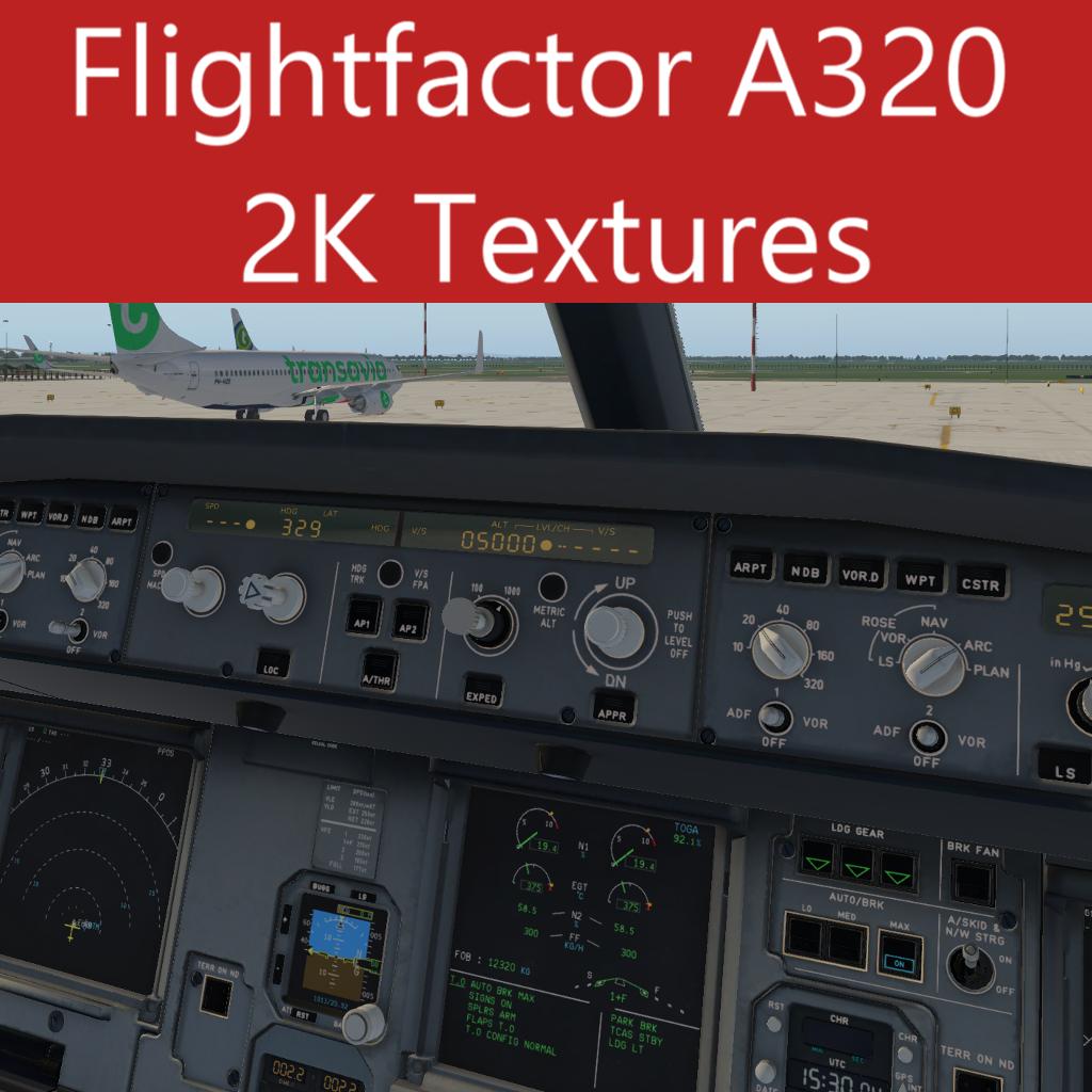 Flightfactor A320 downscaled 2K texture pack - Aircraft Skins