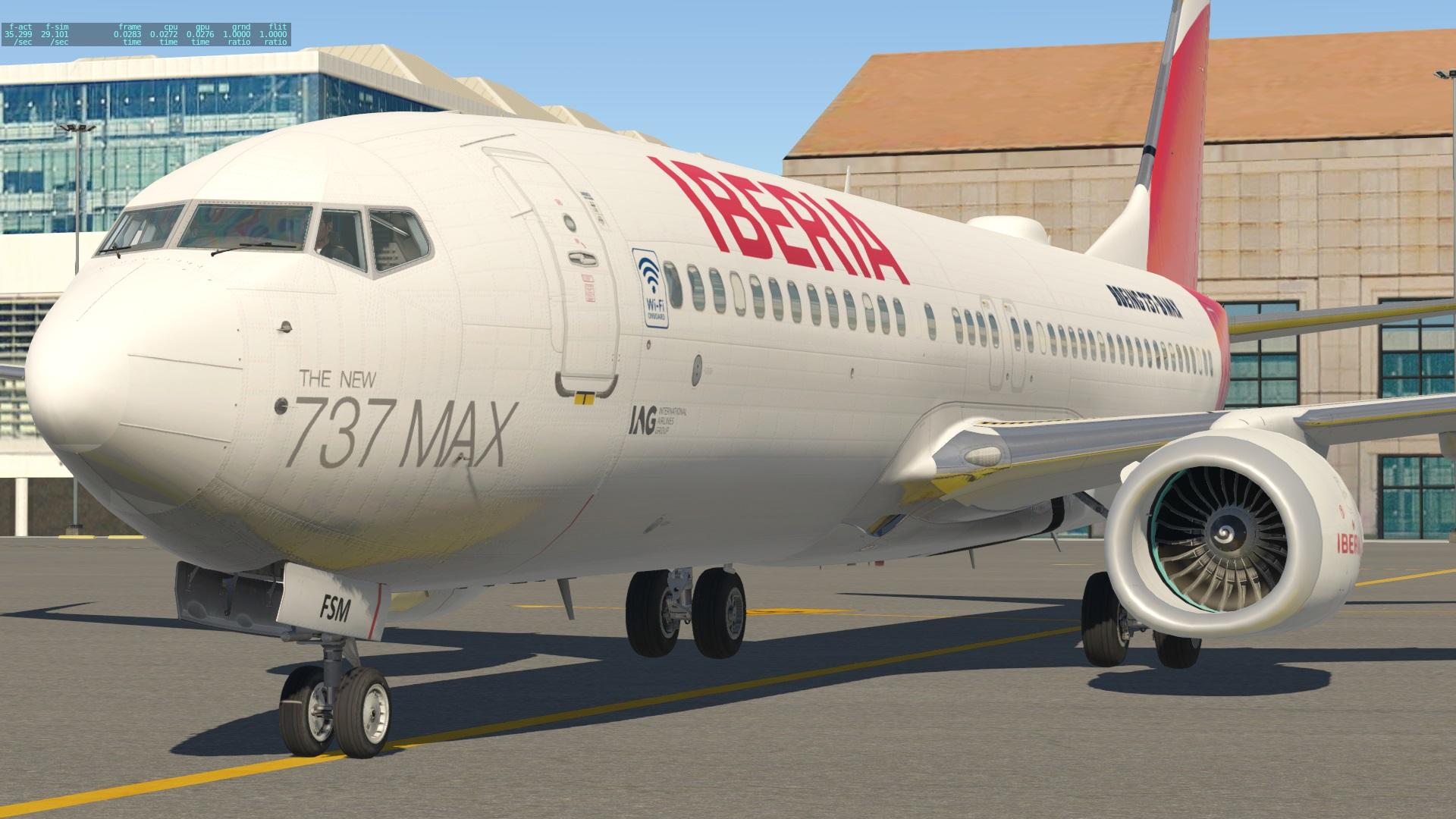 ZIBO IBERIA 737MAX - Aircraft Skins - Liveries - X-Plane Org Forum