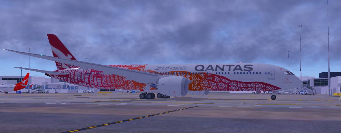 Qantas VH-ZND