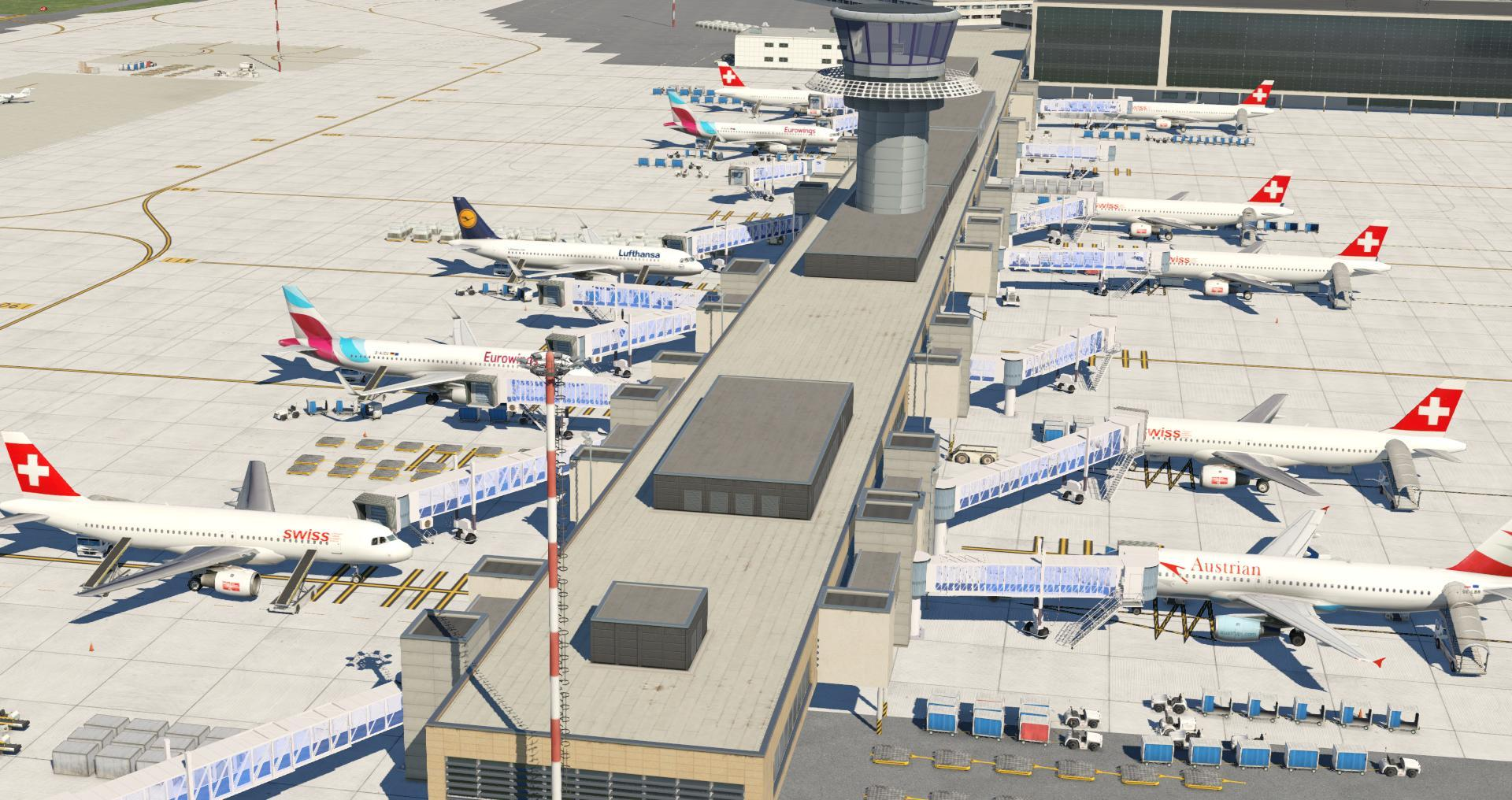 LSZH Zurich - Scenery Packages (v11,v 10, v9) - X-Plane Org