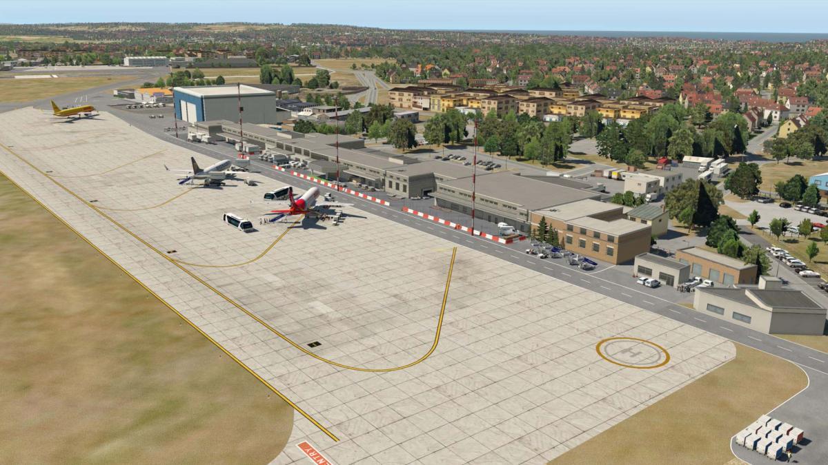 LMML Malta International Airport - Scenery Packages (v11,v 10, v9