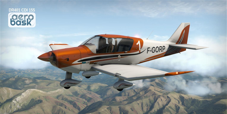 Aerobask Robin DR401 CDI 155 - General Aviation - X-Plane