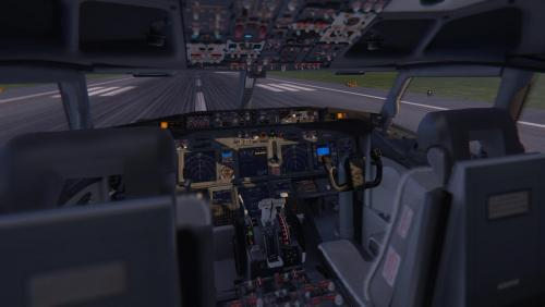 New improved cockpit textures for Zibo738 3 27d - Textures