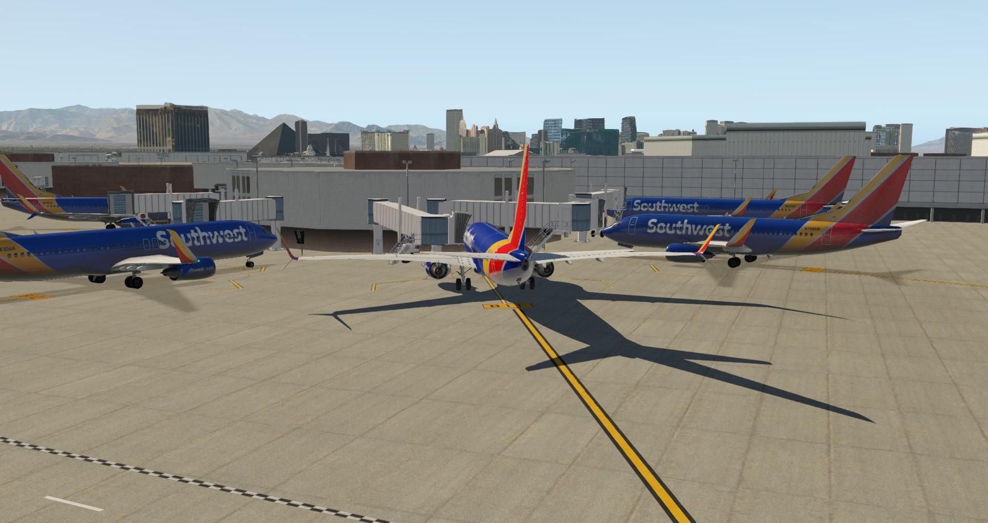 KLAS - Las Vegas McCarran International Airport (currently a