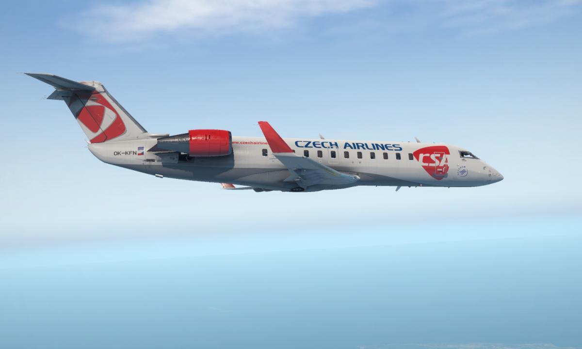 CRJ200 Czech Airlines   Fictional livery - Aircraft Skins - Liveries