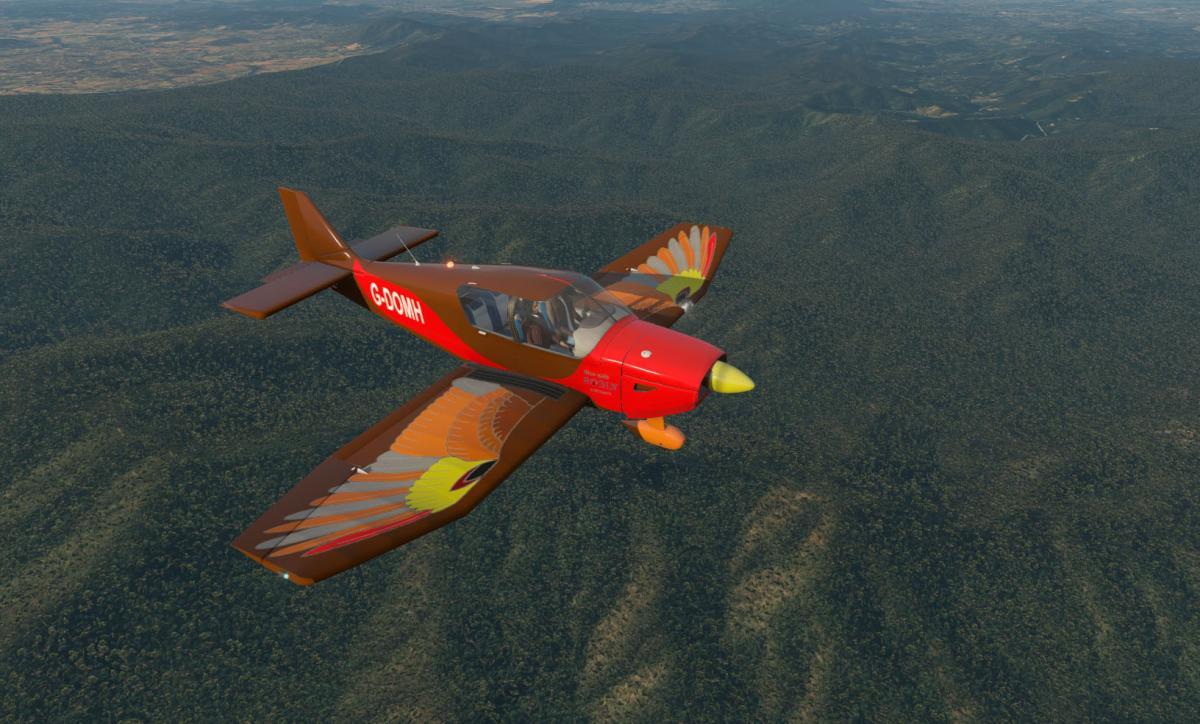 Robin DR401 CDI155 - Robin Redbreast - Aircraft Skins
