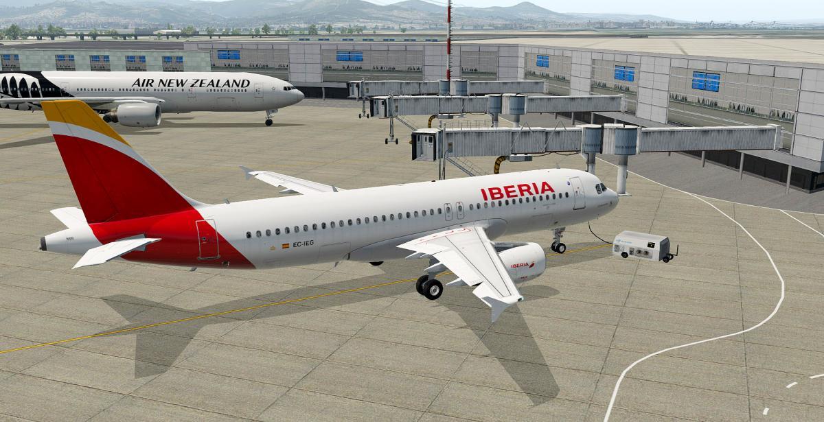 Iberia EC-IEG - FlightFactor A320 Ultimate (New model 2 0