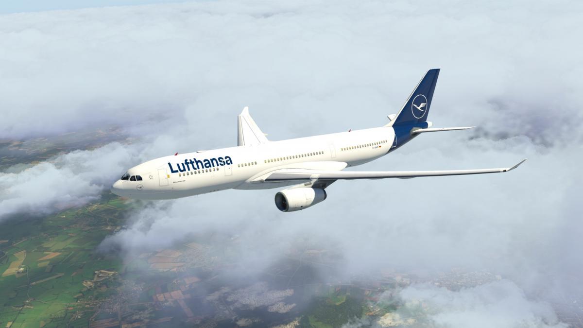 Lufthansa (new) A330-200 Jardesign - Aircraft Skins