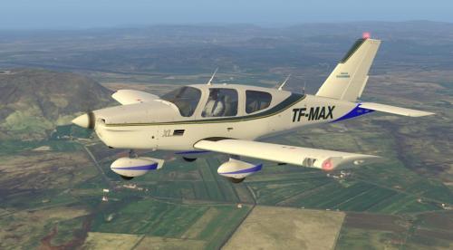 TF-MAX for TB-10 TOBAGO - Aircraft Skins - Liveries - X