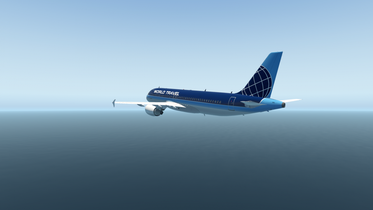World Travel Airlines - Flight Factor A320 - Aircraft Skins