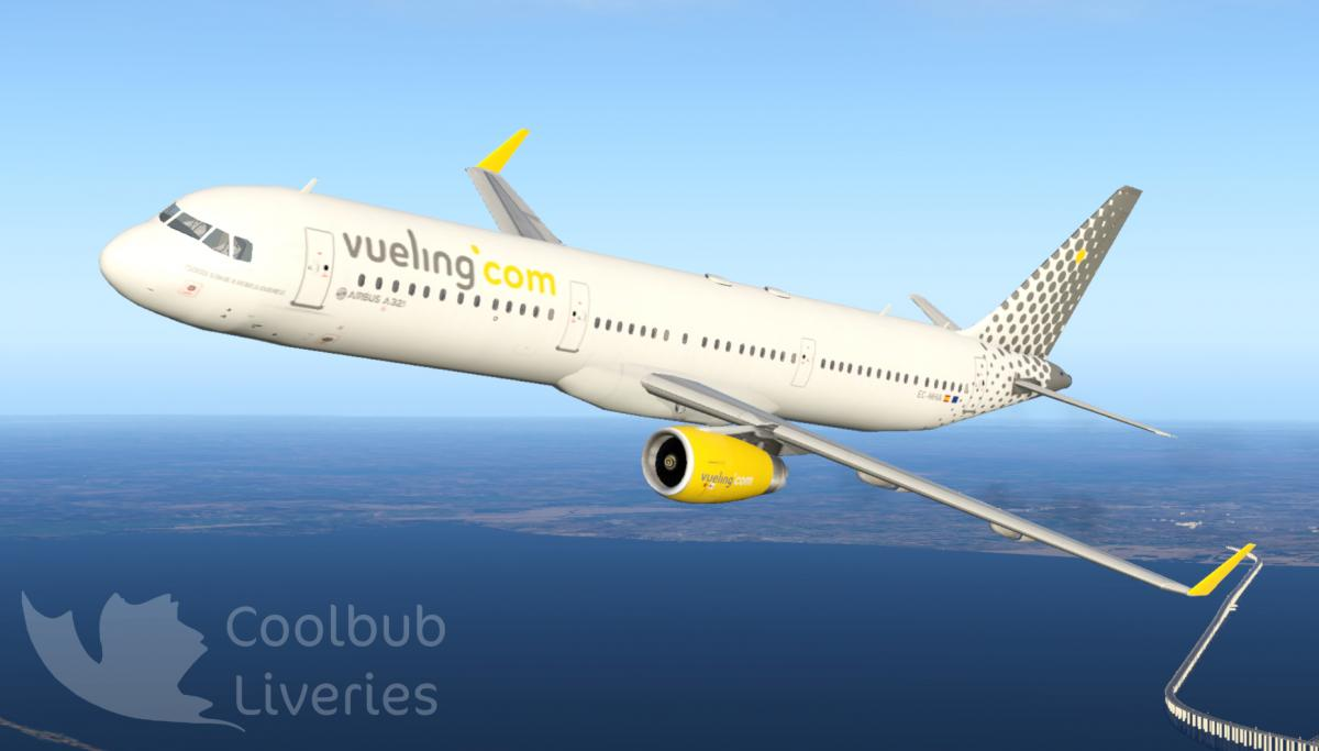 Vueling A321 Riviere - Aircraft Skins - Liveries - X-Plane
