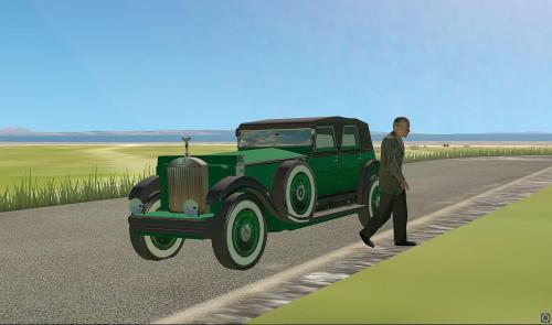 1926 Rolls Royce Phantom Soft Top (Static) - Objects - X ...