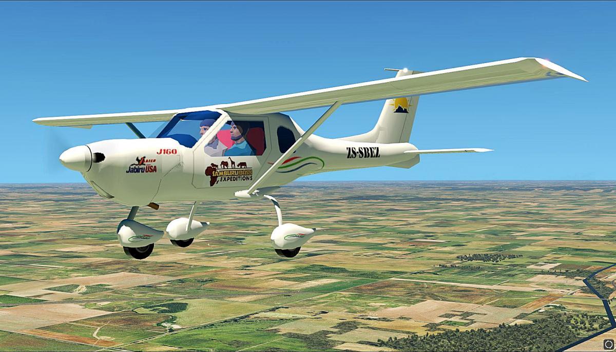 ZS-SBEZ Samburu Bush Expeditions Jabiru 160C (Jacques Brault