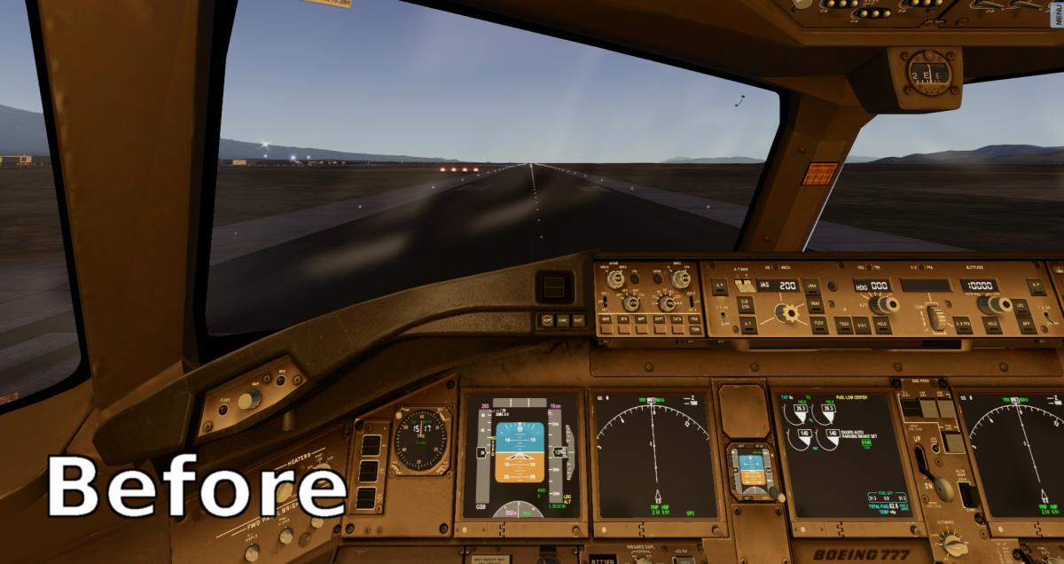 Window reflections mod FF B777 - Payware Aircraft - X-Plane Org Forum