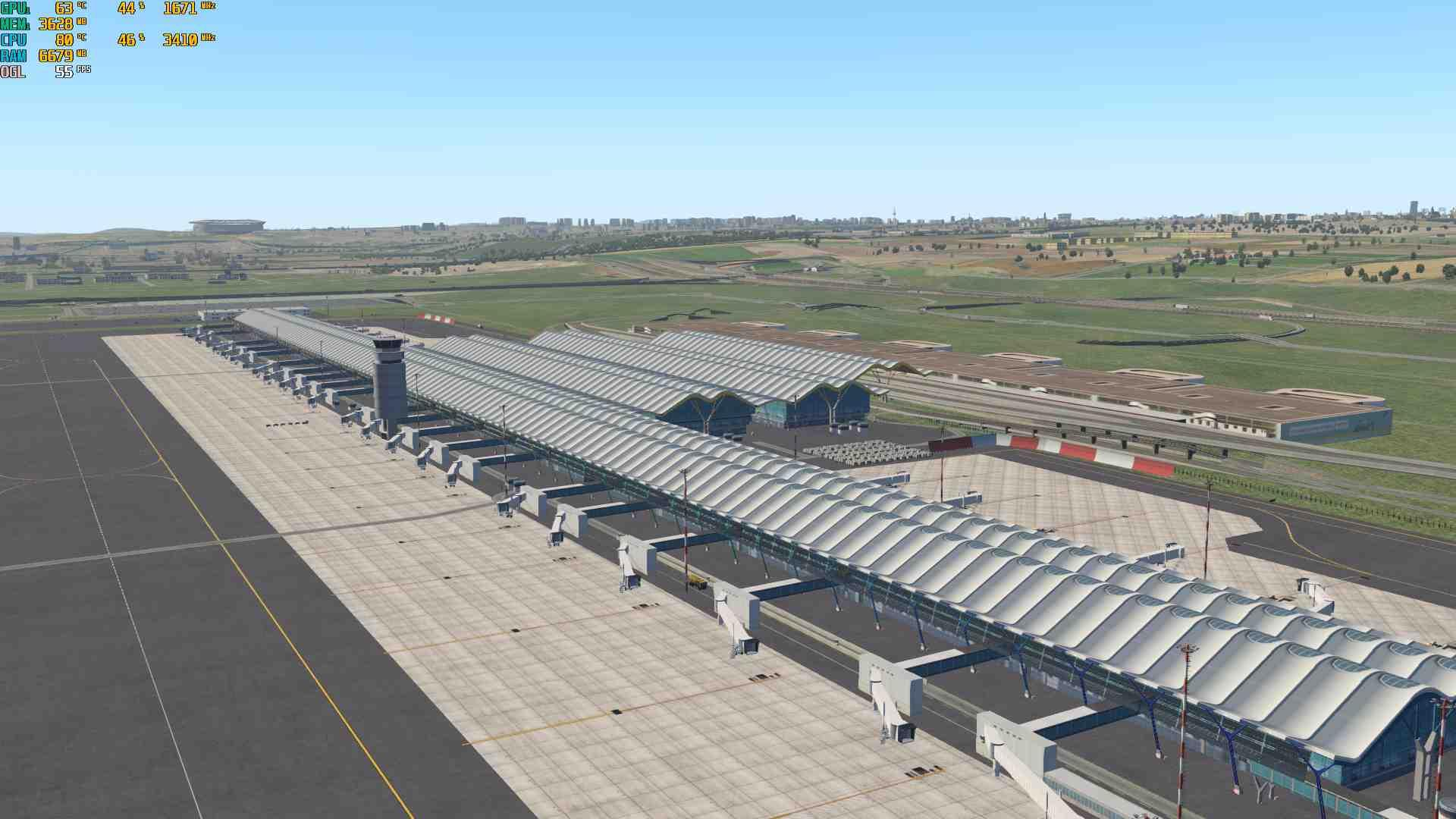 LEMD Adolfo Suárez Madrid-Barajas - Scenery Packages (v11,v
