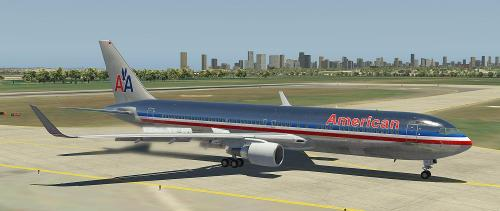 Old American Airlines for 767 Professional Extended from