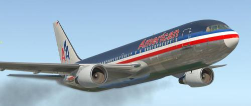 Old American Airlines 767-223 for Flight Factor´s 767 Professional