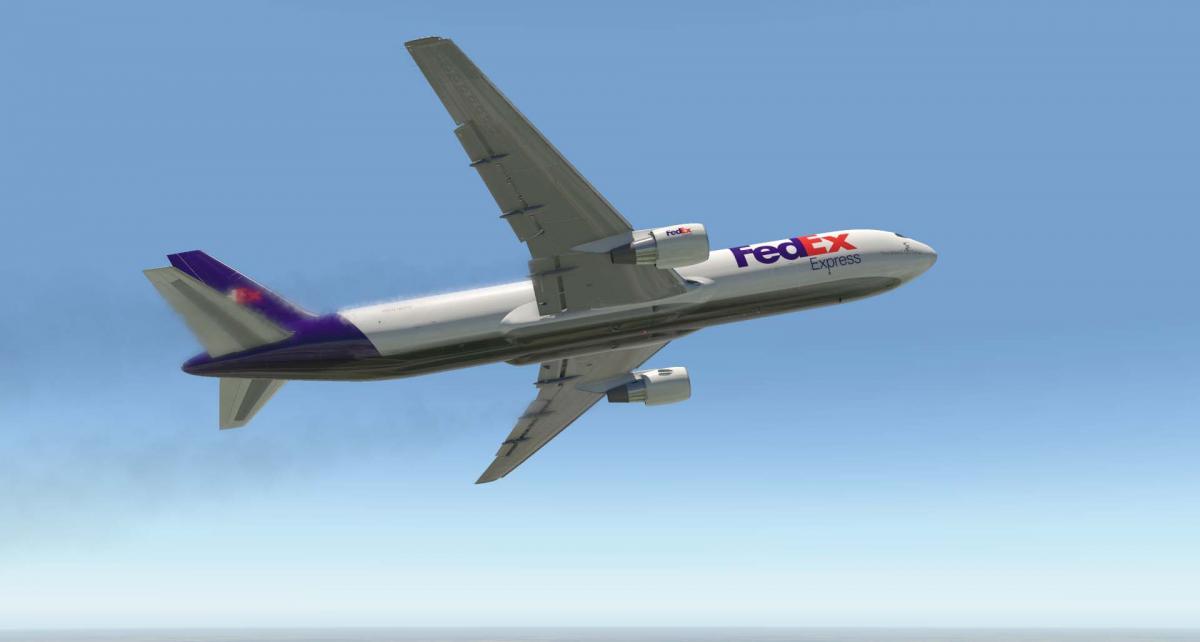 Fed Ex Livery for FF 767-300F - Aircraft Skins - Liveries - X-Plane