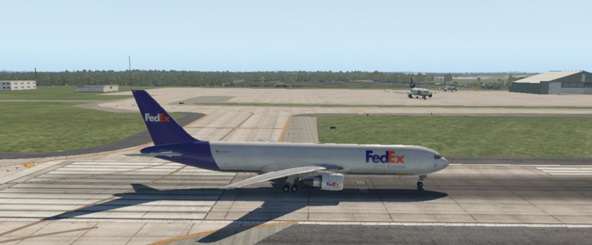 Flight Factor Extended 767 Freighter - FedEx Livery (N298FE