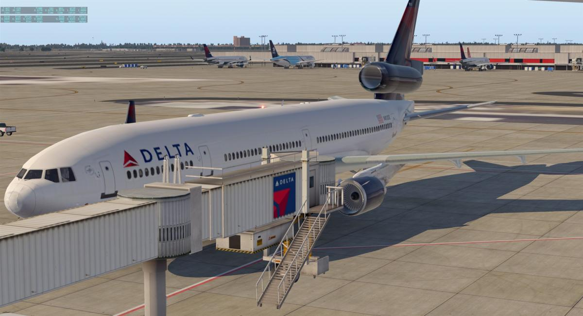 MD-11 Delta UP - Aircraft Skins - Liveries - X-Plane Org Forum