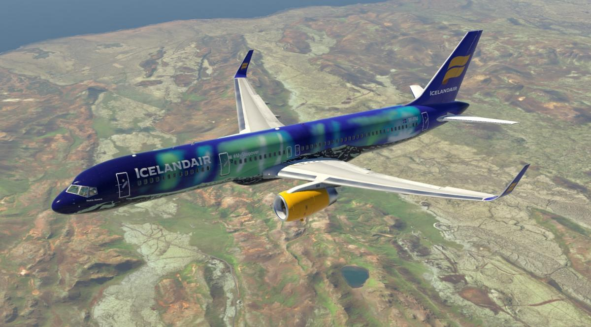 Flightgear 757 Liveries