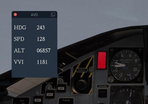 Accurate Vital Display lua - HUD - X-Plane Org Forum