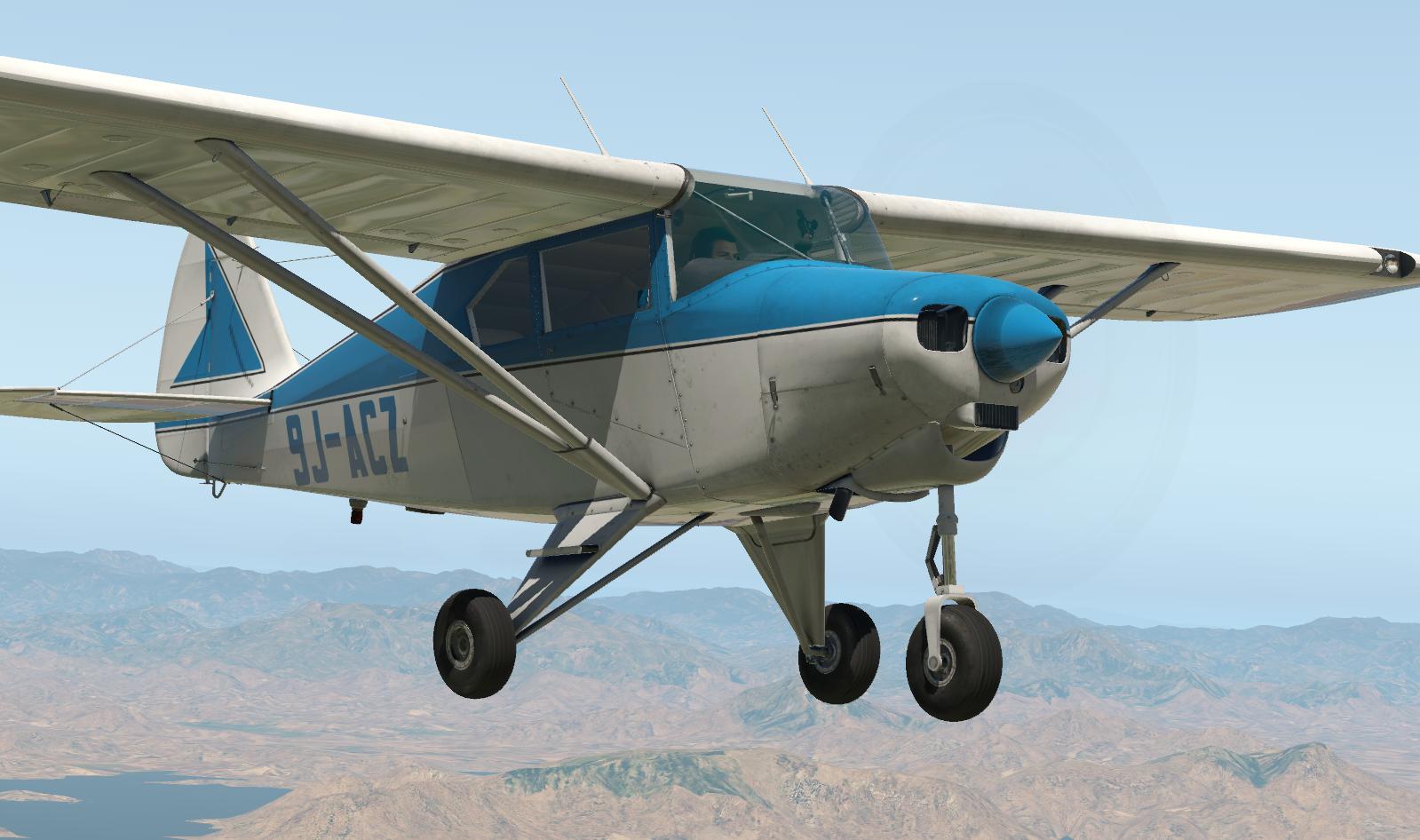 Alabeo PA22 Tri-Pacer 9J-ACZ  - Carenado Paints - X-Plane