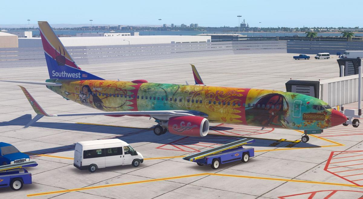 Disney Air's Southwest airlines codeshare Part 1 KMCO HUB