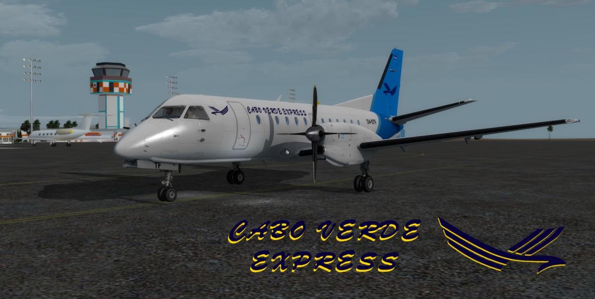 Carenado SAAB S340 Cabo Verde Express - Aircraft Skins