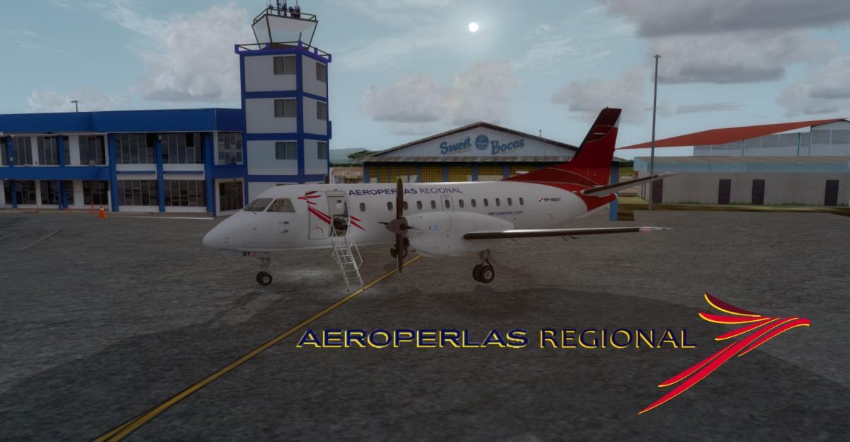 Carenado SAAB 340B AeroPerlas - Aircraft Skins - Liveries