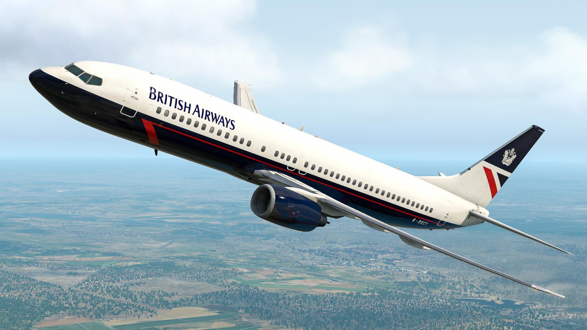 Milviz 737 Repaints