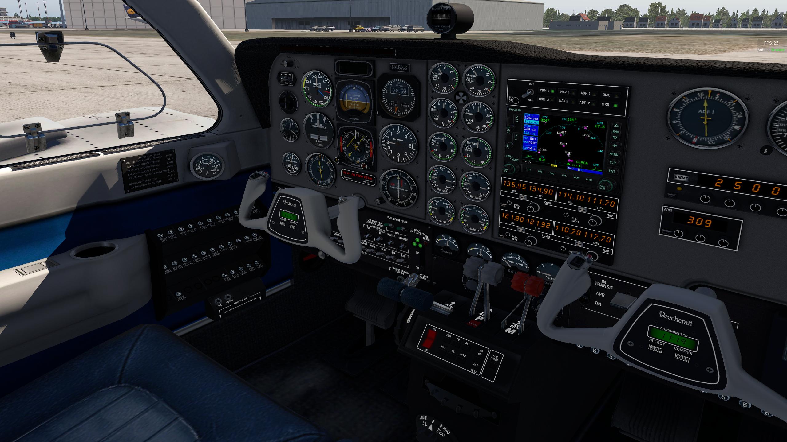 Beechcraft Baron 58 - Remastered - General Aviation - X
