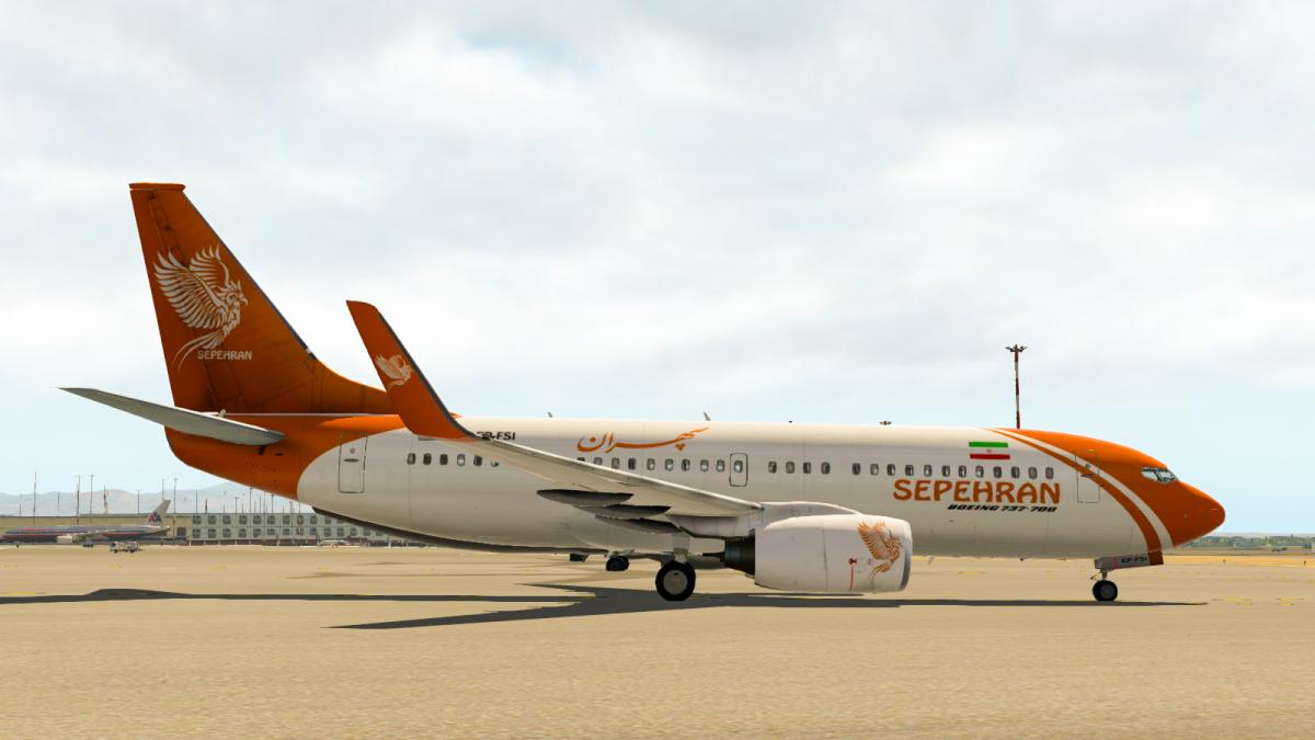 Sepehran Airlines 737-700(Fictional) for EADT - Aircraft