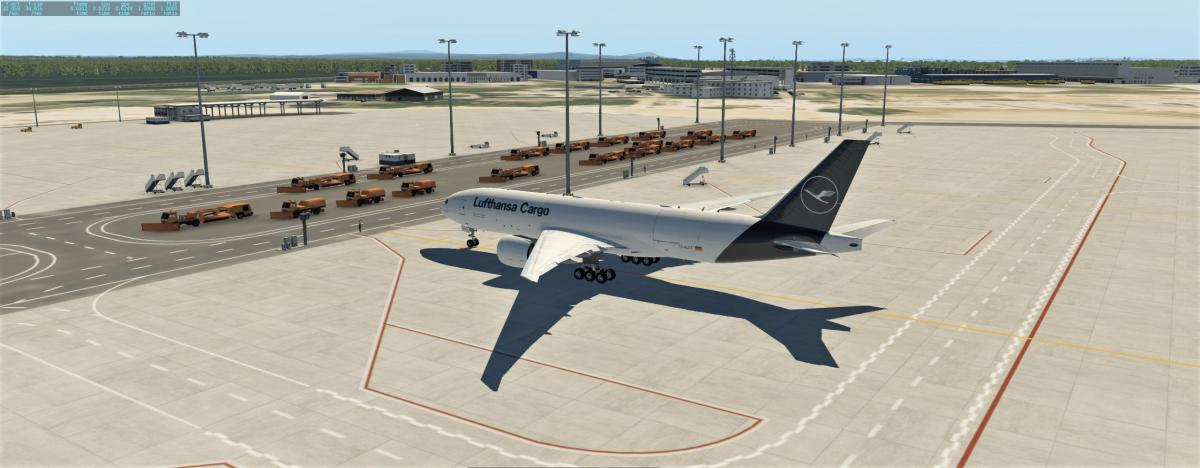 FF 777F Lufthansa (New Livery) - Aircraft Skins - Liveries