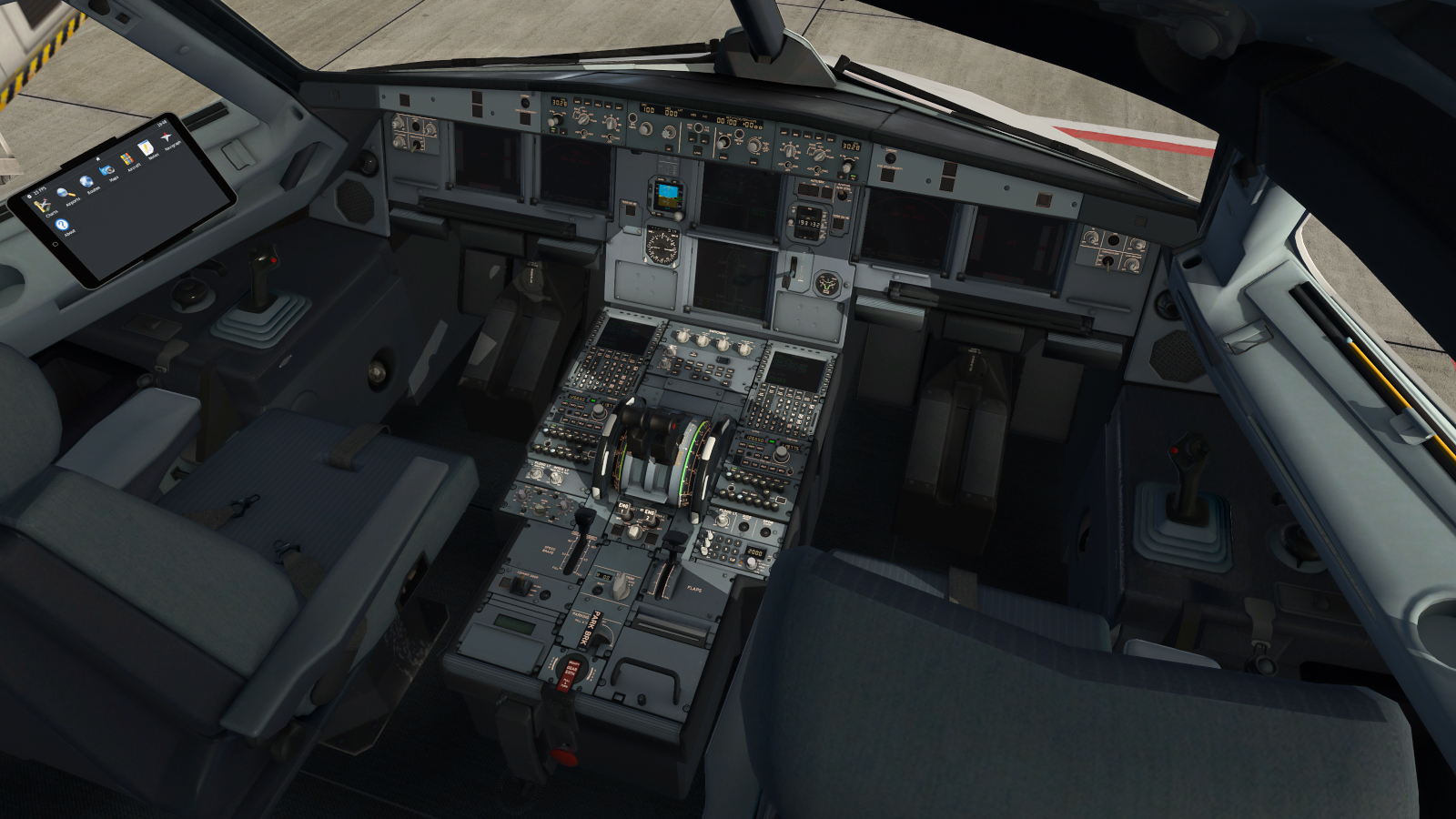 Toliss Cockpit Texture Replacement - Airliners - X-Plane Org Forum